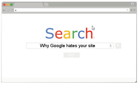 Why Google Hates Your Website